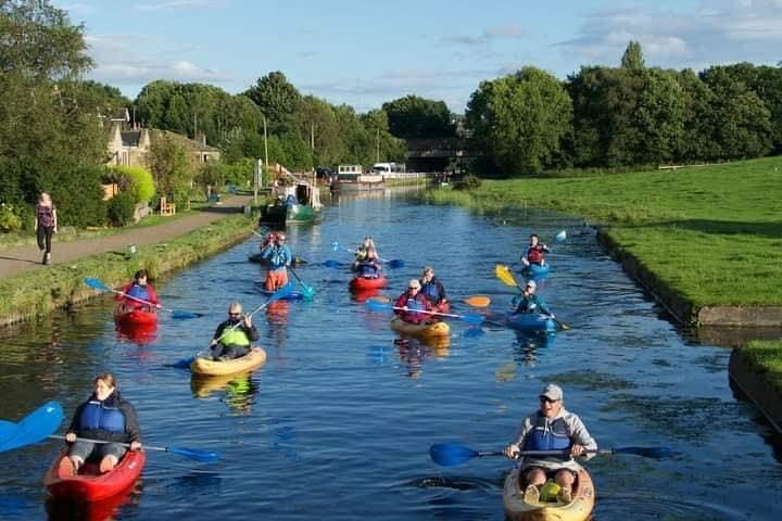 Kayaking in Yorkshire